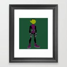 Beast Boy Framed Art Print