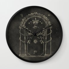 Lord of the Rings: Gates of Moria Wall Clock