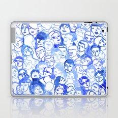 Blue velvet Laptop & iPad Skin