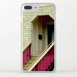 Just A Trim Clear iPhone Case