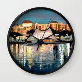 Waterfront Wall Clock
