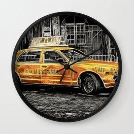 Taxi for Govan Wall Clock
