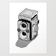 Rolleiflex Art Print