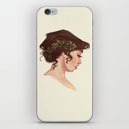 Wedding Hair iPhone Skin