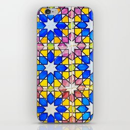 Azulejos - Portuguese tiles iPhone Skin