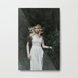 White Queen Metal Print