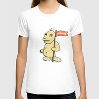 cookie monster T-shirts featuring Funny Cartoon Cookie Monster by Boriana Giormova