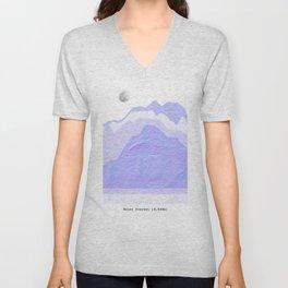 Mount Everest Unisex V-Neck