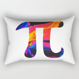 Abstract Mars Surface Oil Pi Rectangular Pillow