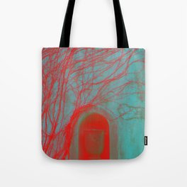 Vessel, Veins and Vines Gothic Garden Wall Digital Photograph Tote Bag