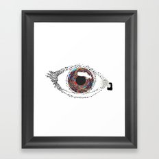the Eye Framed Art Print