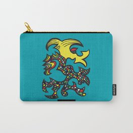 Kissing Dragon Carry-All Pouch