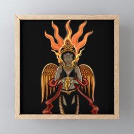Eternity: Hotaru--Fire Goddess Framed Mini Art Print