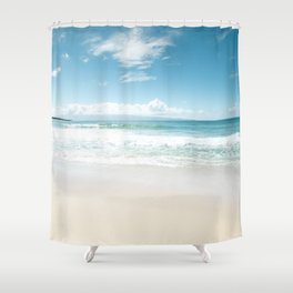 Kapalua Blue Shower Curtain