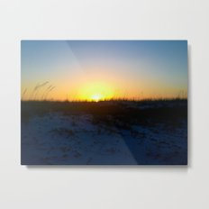 She Is There Now Metal Print