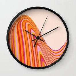 Wave Series p4 Wall Clock