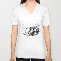 renaissance V-neck T-shirts featuring Renaissance by ioannart