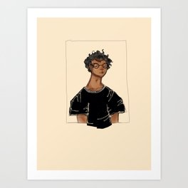 Dreaming Harry Art Print