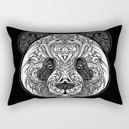 Zen Panda Rectangular Pillow