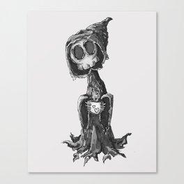 Grim Morning Canvas Print