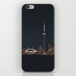 Silver Toronto iPhone Skin