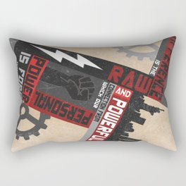 Difference - Audre Lorde Quote Rectangular Pillow