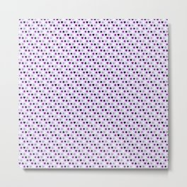 Ace Pattern Metal Print
