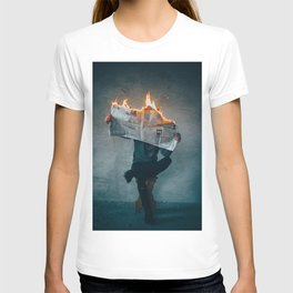 The World on Fire (Color) T-shirt