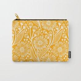 Saffron Coneflowers Carry-All Pouch
