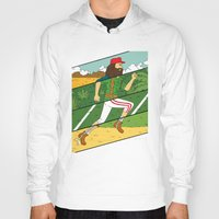 run Hoodies featuring Run by Derek Eads