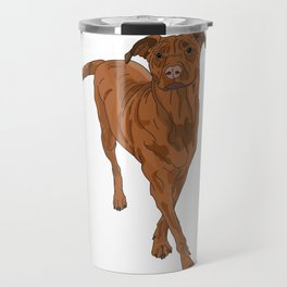 Dog Portrait 2 Travel Mug