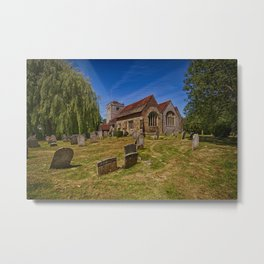 St Mary The Virgin Ringmer Metal Print