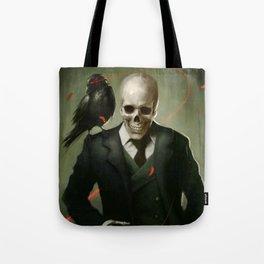 Skully Gentleman Tote Bag