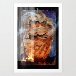 Steve Bannon: POTUS Trump's Wingman. Art Print