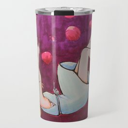burbujas rosadas Travel Mug