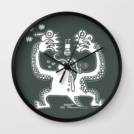 Reducing Carbon Footprint Wall Clock