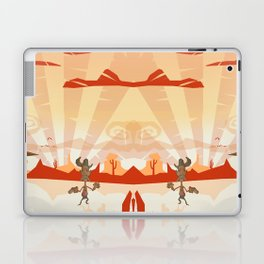 Wild west sheriff Laptop & iPad Skin