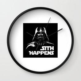 Sith Happens Wall Clock