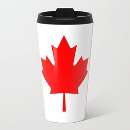 Canadian National flag, Authentic color and 3:5 scale version Travel Mug