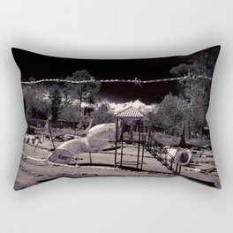 Playtime Is Over Rectangular Pillow