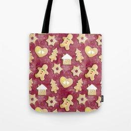 Gingerbread Christmas Cookies Tote Bag