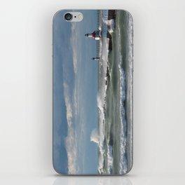 Windblown Lake Michigan iPhone Skin