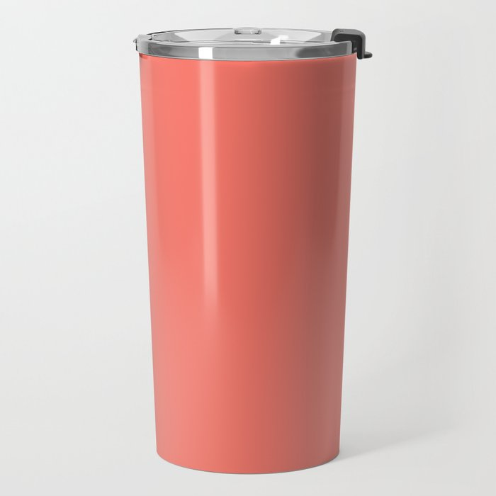 PEACH ECHO PANTONE 16-1548 Travel Mug