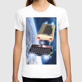Commodore 64 vs Sinclair ZX Spectrum T-shirt
