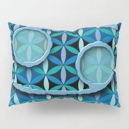 CANCER Flower of Life Astrology Design Pillow Sham