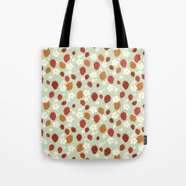 Strawberry Blossom Tote Bag