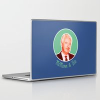 kris tate Laptop & iPad Skins featuring McMann & Tate by Now I'm a witch