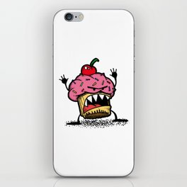 Cupcake Monster iPhone Skin