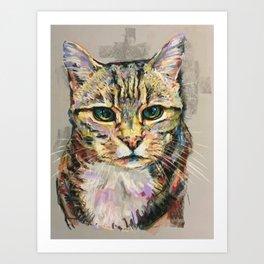 Tubbs the Cat Art Print