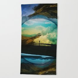 Sphere Reality Beach Towel